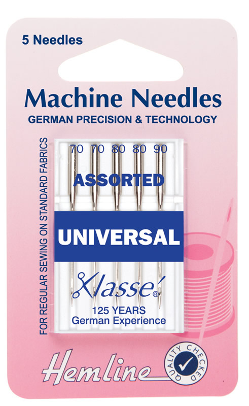 Hemline Machine Needles Universal