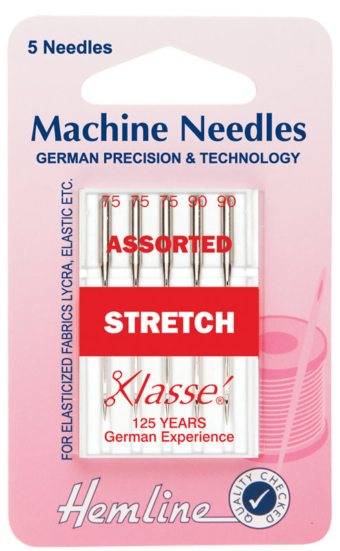 Hemline Machine Needles Assorted Stretch