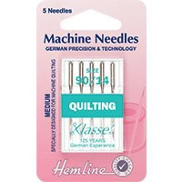 Hemline Machine Needles Quilting Size 90/14