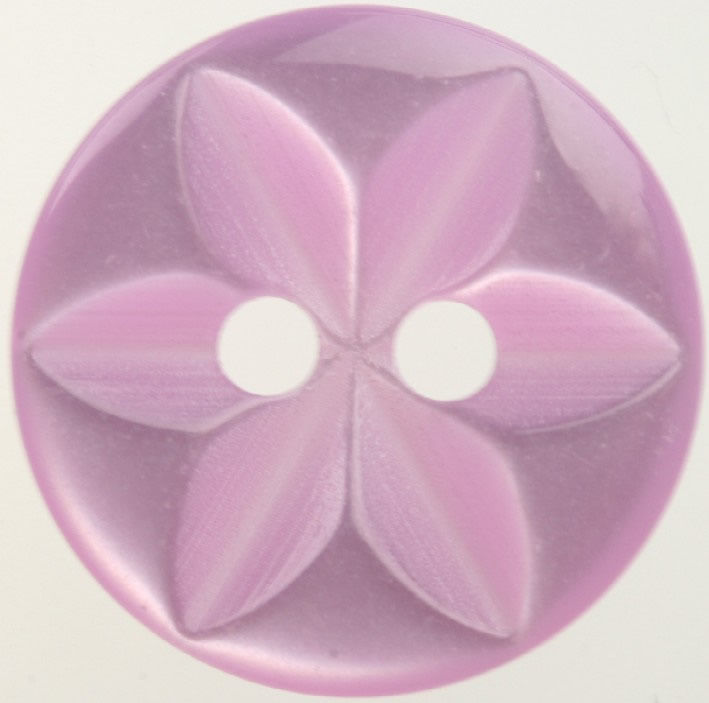Star Purple Button 16mm