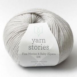 Yarn Stories Fine Merino /& Baby Alpaca DK