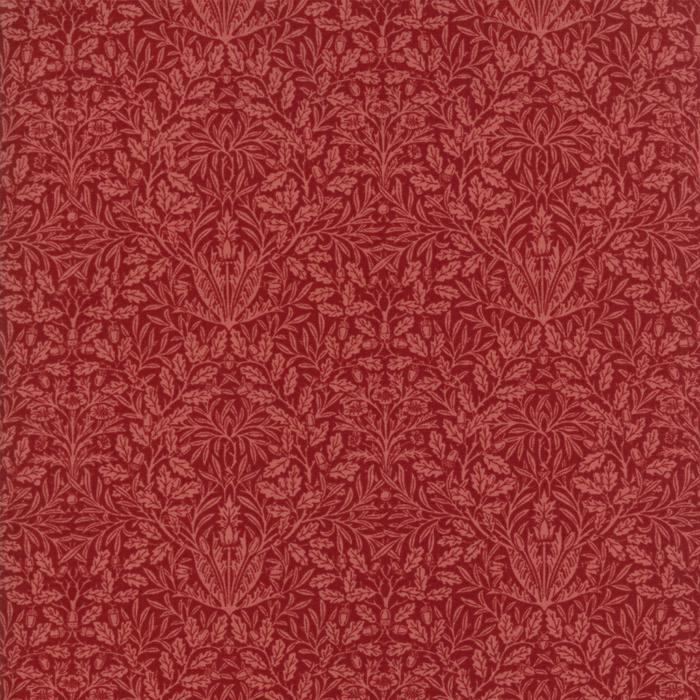 William Morris Garnet 1879 Red Needlecraft