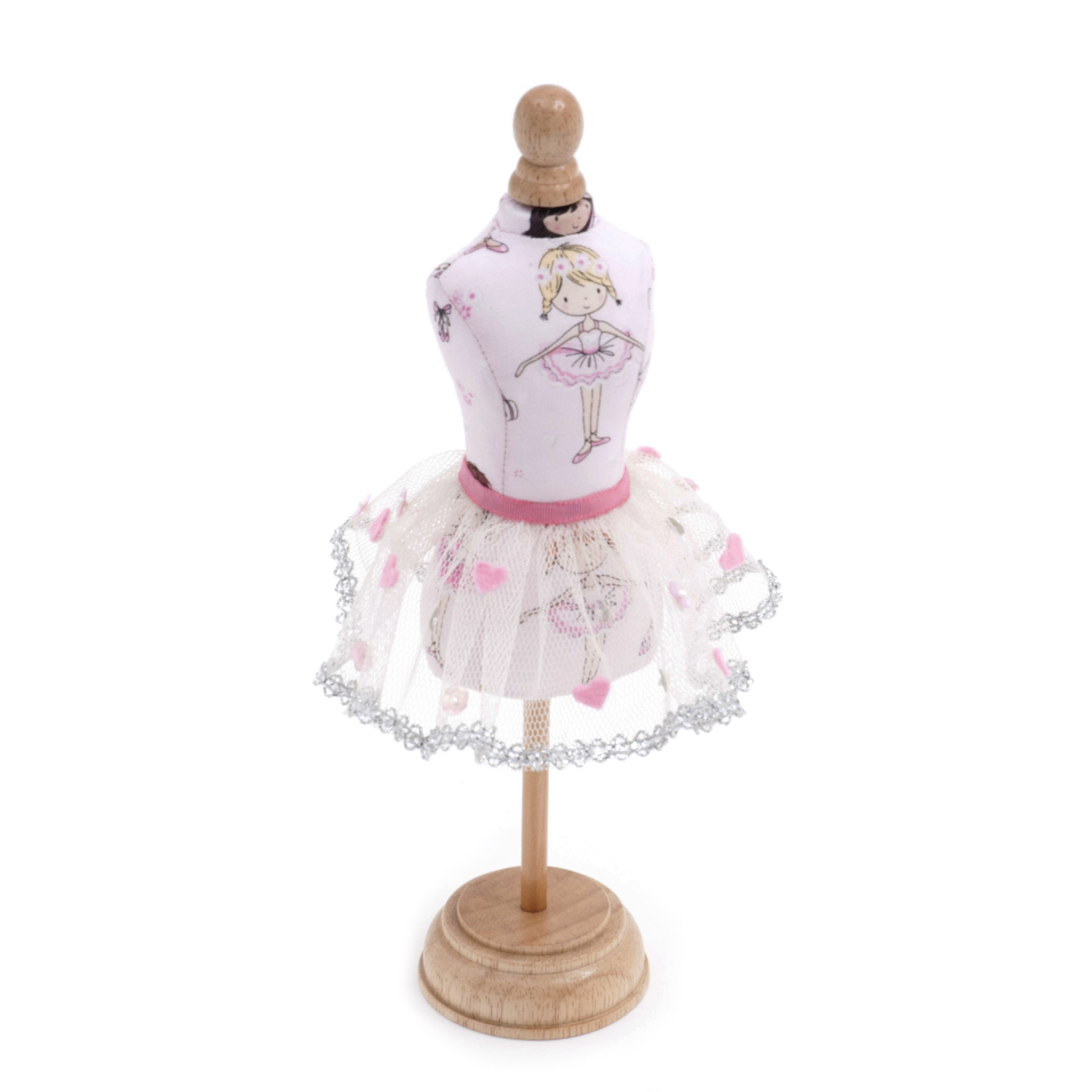 Dress Form Pincushion Ballerina
