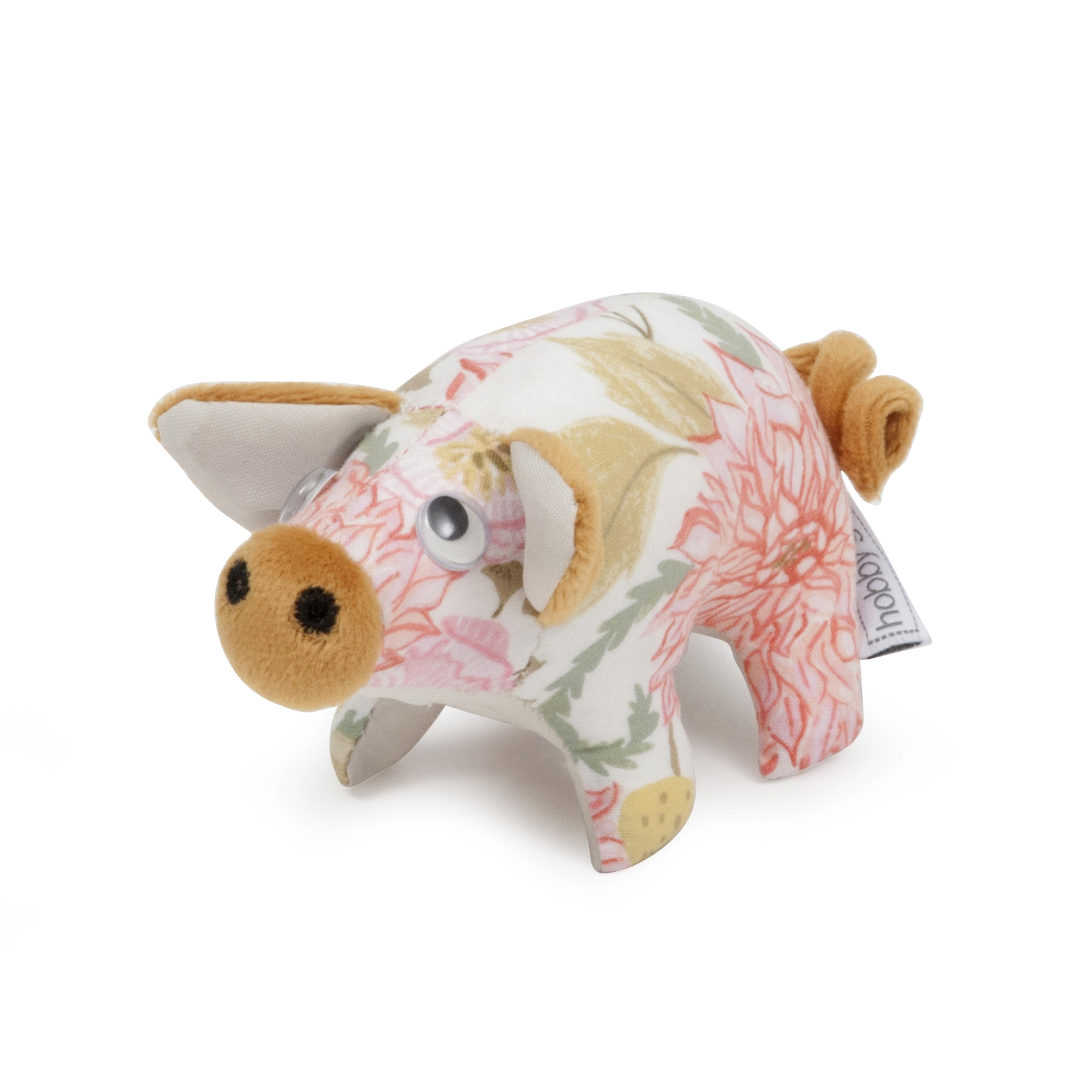 Pincushion: Pig: Fable Floral