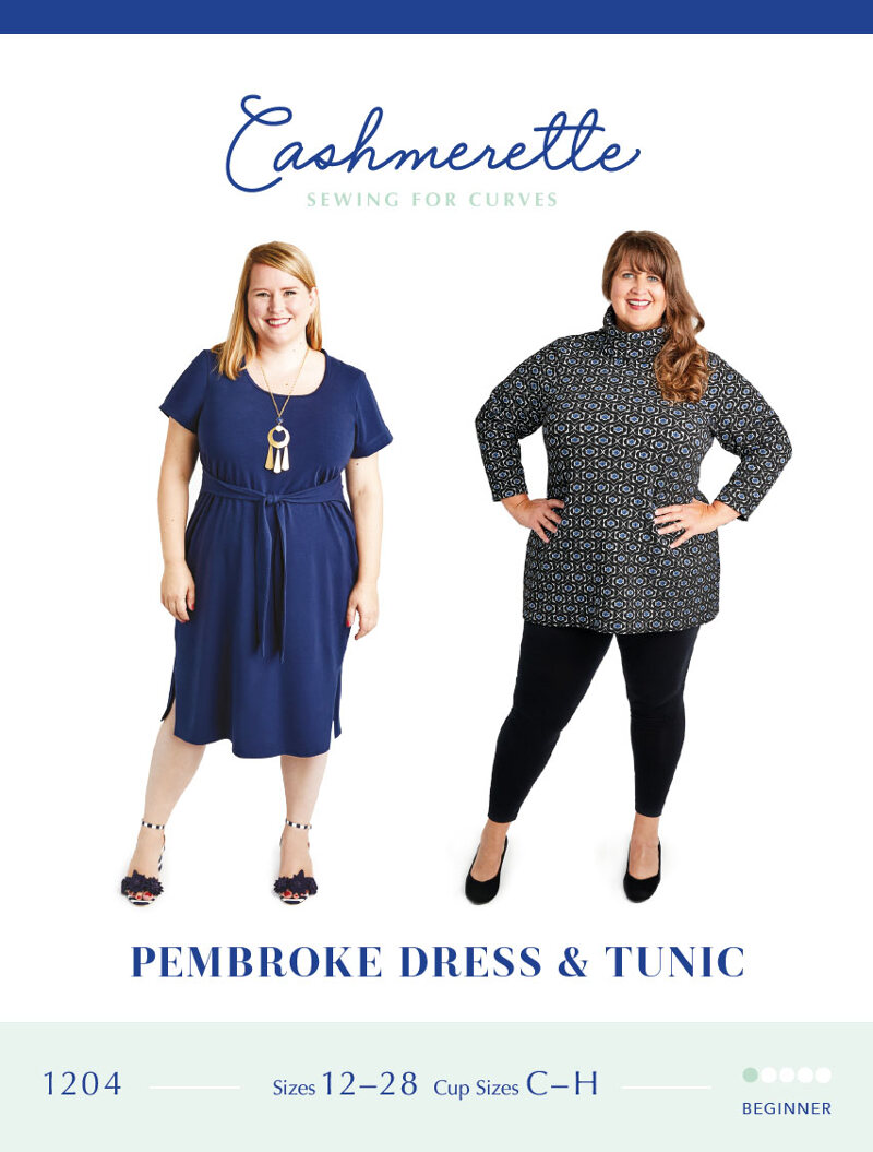 Pembroke Dress and Tunic Pattern - Cashmerette Patterns