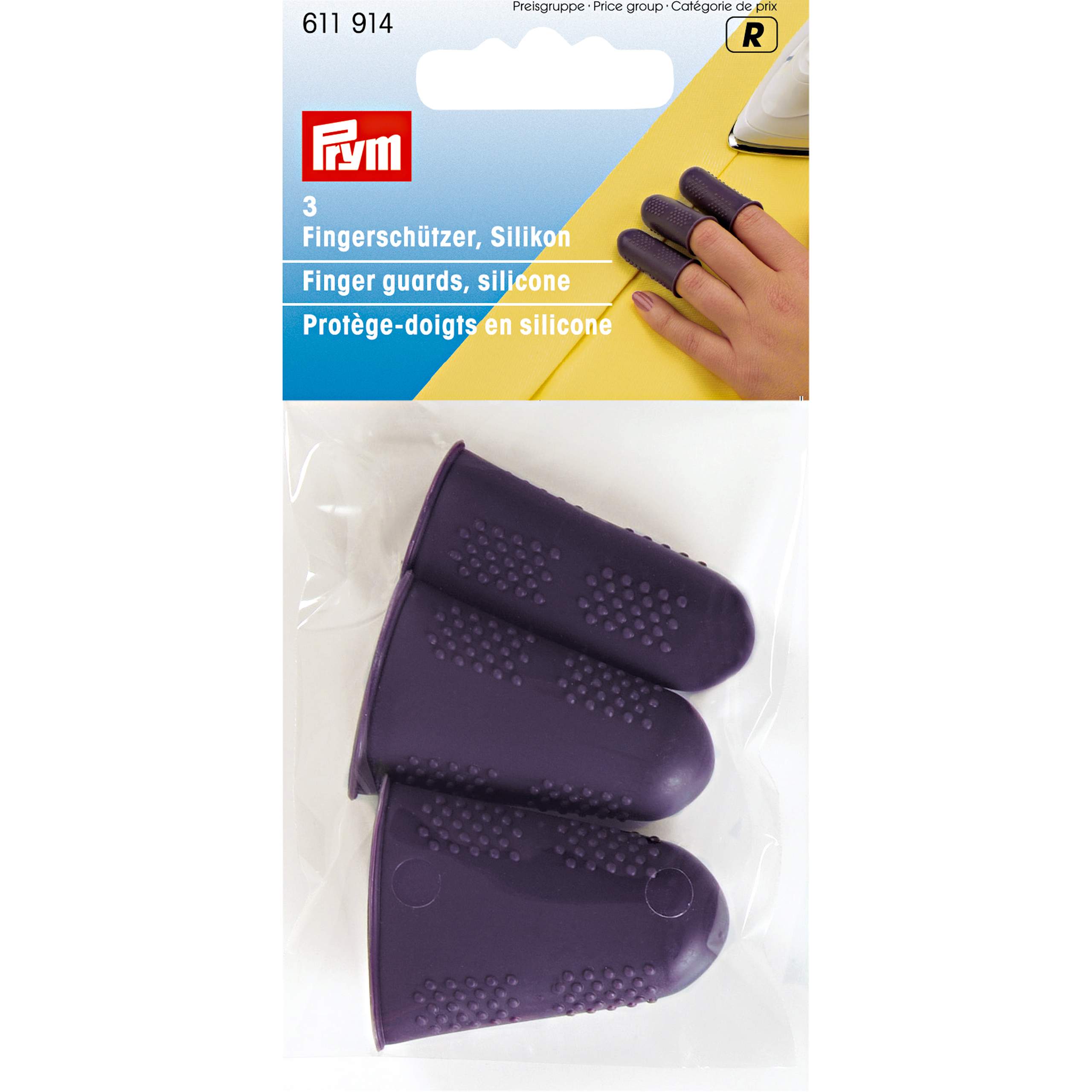 PRYM Finger Guards, Silicon